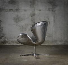 Cheryl Ekstrom Cheryl Ekstrom Swan Chair Stainless Steel Sculpture - 445472