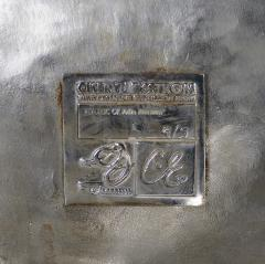 Cheryl Ekstrom Cheryl Ekstrom Swan Chair Stainless Steel Sculpture - 445473