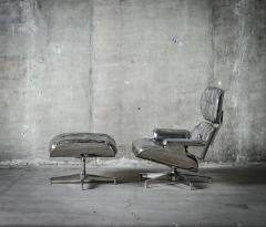 Cheryl Ekstrom Eames Lounge Chair and Ottoman Stainless Steel Sculpture - 445555