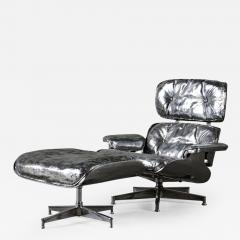 Cheryl Ekstrom Eames Lounge Chair and Ottoman Stainless Steel Sculpture - 446030