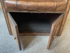 Chesterfield style Carrosse armchair circa 1950 - 2043560