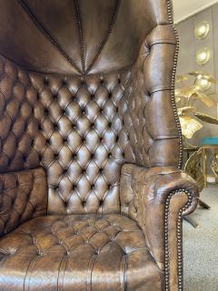 Chesterfield style Carrosse armchair circa 1950 - 2043564