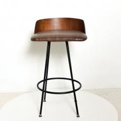 Chet Beardsley Mid Century Modern Walnut Bar Stool by Chet Beardsley - 1192894