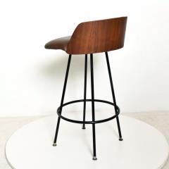 Chet Beardsley Mid Century Modern Walnut Bar Stool by Chet Beardsley - 1192895