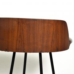 Chet Beardsley Mid Century Modern Walnut Bar Stool by Chet Beardsley - 1192899
