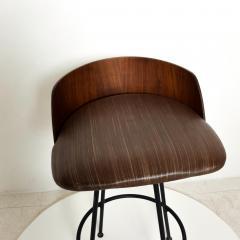 Chet Beardsley Mid Century Modern Walnut Bar Stool by Chet Beardsley - 1192901