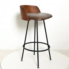 Chet Beardsley Mid Century Modern Walnut Bar Stool by Chet Beardsley - 1192902