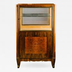 Chic French Art Deco Vitrine - 1226128