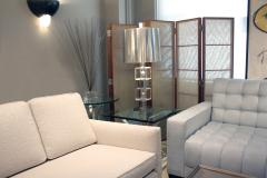 Chic Table Lamp in Lucite and Chrome 1970s - 1118251