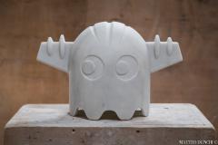 Chicco Chiari Sculpture made by the Italian artist Chicco Chiari representing Ufo Robot  - 1307086