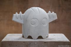 Chicco Chiari Sculpture made by the Italian artist Chicco Chiari representing Ufo Robot  - 1307087