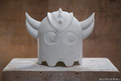 Chicco Chiari Sculpture made by the Italian artist Chicco Chiari representing Ufo Robot  - 1307090