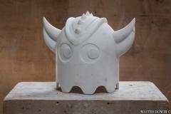 Chicco Chiari Sculpture made by the Italian artist Chicco Chiari representing Ufo Robot  - 1307091