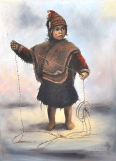 Child with a Fishing Line OC - 143894