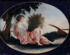 China Trade Reverse Glass Painting - 145022