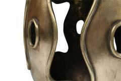 Chinese Brass Drum Garden Table - 774765