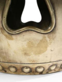 Chinese Brass Drum Garden Table - 774775