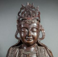 Chinese Bronze Sculpture of a Seated Buddha - 1920212