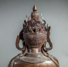 Chinese Bronze Sculpture of a Seated Buddha - 1920213