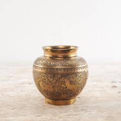 Chinese Bronze Vase Decorated with Horses - 2141255