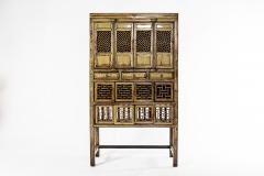 Chinese Cabinet with Three Drawers and Four Doors - 1224807