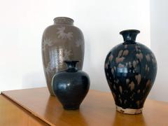 Chinese Cizhou Ceramic Vase with Russet Splash Glaze - 1201937