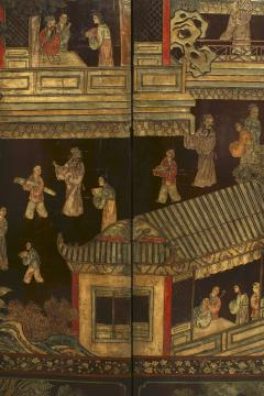 Chinese Coromandel 8 Fold Screen - 1379752