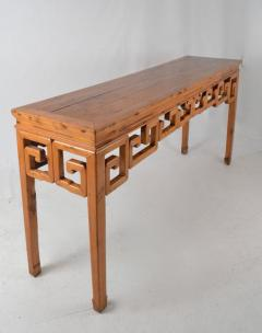 Chinese Elmwood Console   248880