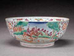 Chinese Export Bowl with Hunt Scenes - 678619