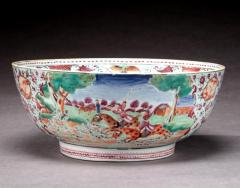 Chinese Export Bowl with Hunt Scenes - 678621