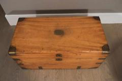 Chinese Export Camphorwod Sea Chest or Campaign Trunk - 271572