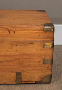Chinese Export Camphorwod Sea Chest or Campaign Trunk - 271573