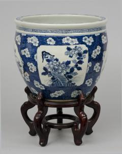 Chinese Export Jardiniere or Fish Bowl on Stand - 144830