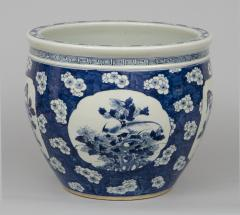 Chinese Export Jardiniere or Fish Bowl on Stand - 144831