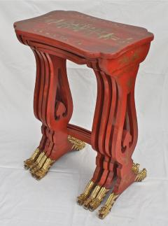 Chinese Export Parcel gilt on Lacquer Quartetto Tables - 1841965