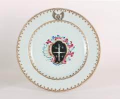 Chinese Export Porcelain Armorial Plate c 1750 - 1196760