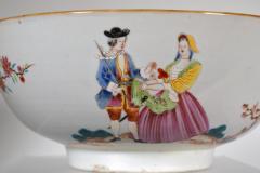 Chinese Export Porcelain Sailors Farewell Return Bowl - 1727466