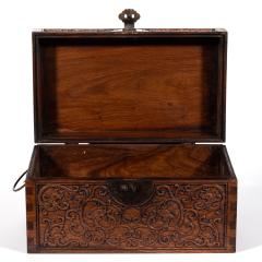 Chinese Finely Carved Huanguali Document Box - 1168050