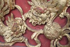 Chinese Guardian Lion Door Panel - 2066376