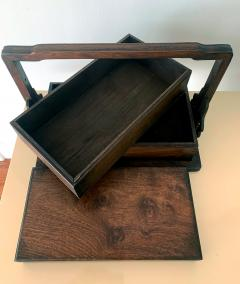 Chinese Huanghuali Stacked Picnic Box - 1168119