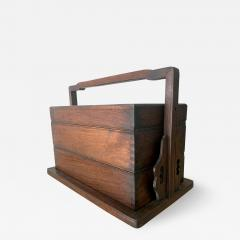 Chinese Huanghuali Stacked Picnic Box - 1168343