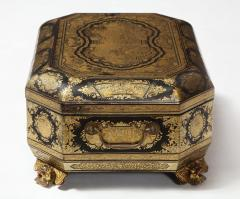 Chinese Lacquer Sewing Box - 1944007