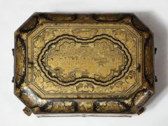 Chinese Lacquer Sewing Box - 1944009