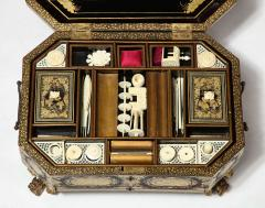 Chinese Lacquer Sewing Box - 1944016