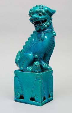 Chinese Large Turquoise Foo Dog - 267272