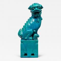 Chinese Large Turquoise Foo Dog - 267874
