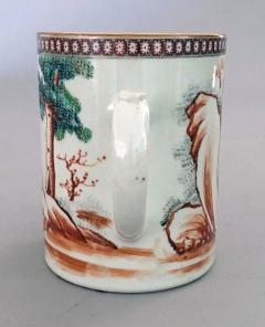 Chinese Qianlong 18th Century Famille Rose Mug - 865809