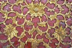 Chinese Quatrefoil Pheasant Panel - 2066384