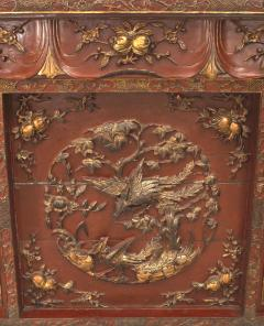 Chinese Red Lacquered and Gilt Altar Console Table - 1428786