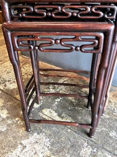 Chinese Rosewood Nesting or Quartetto Tables - 1384393